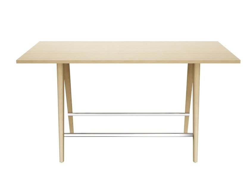 Rectangular meeting table 1510 by THONET