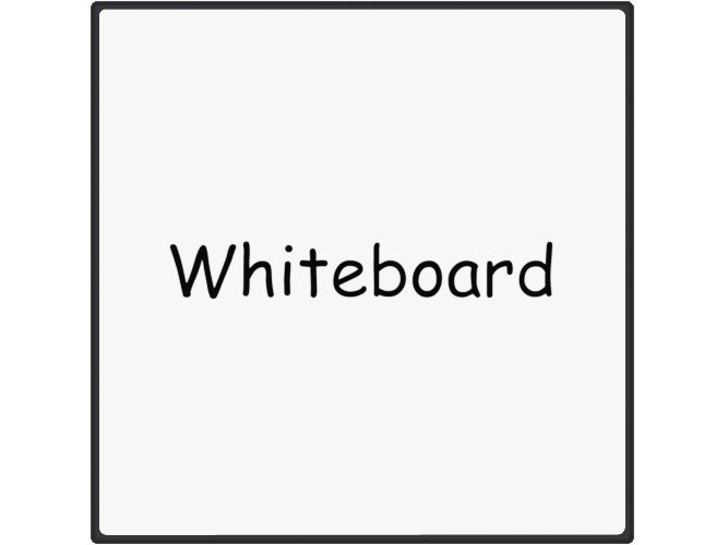 Office whiteboard / Decorative panel MAGNETIC WHITE BOARD by Add Plus