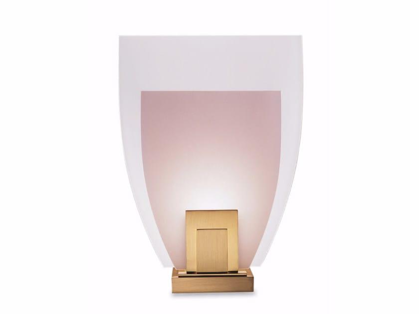 Direct light wall light 160 K | Wall light by Jean Perzel
