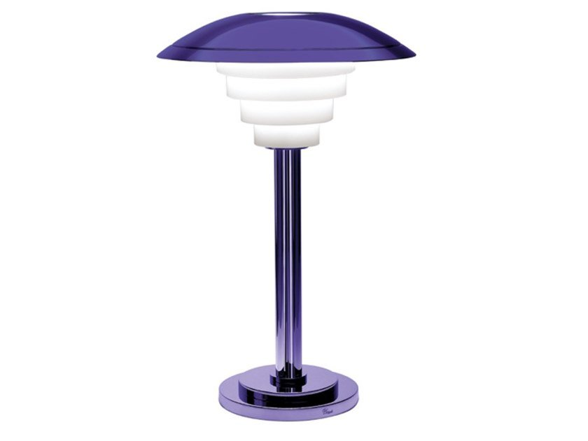 Direct light metal table lamp 162 VIO | Table lamp by Jean Perzel