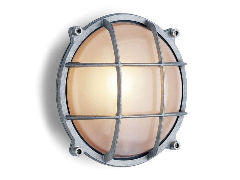 Lampada da parete in alluminio e vetro 165252 by THPG