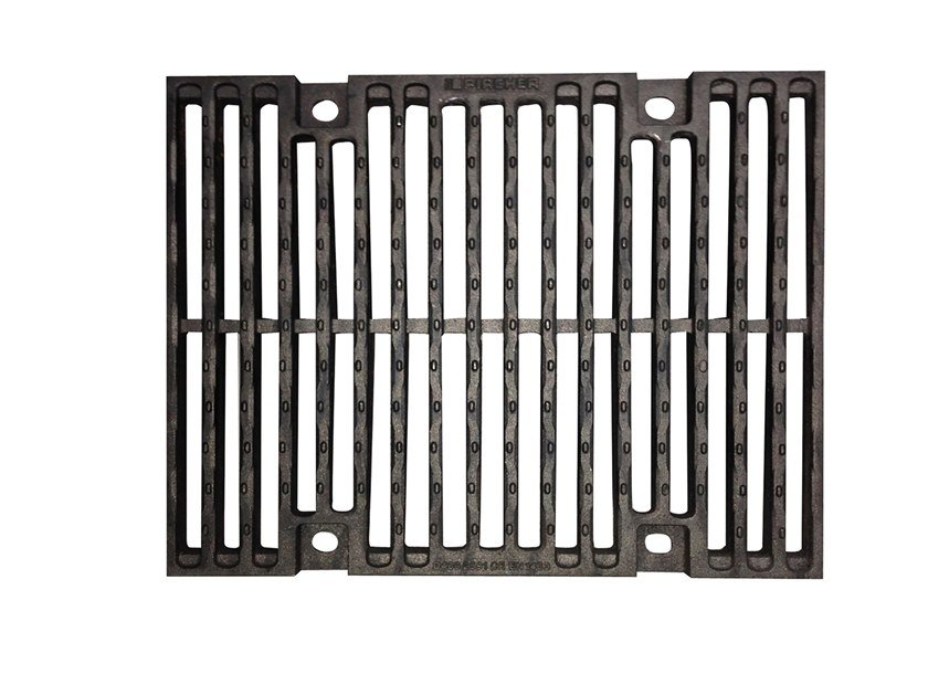 Cast iron Manhole cover and grille for plumbing and drainage system Slotted grating d.i. by Pircher