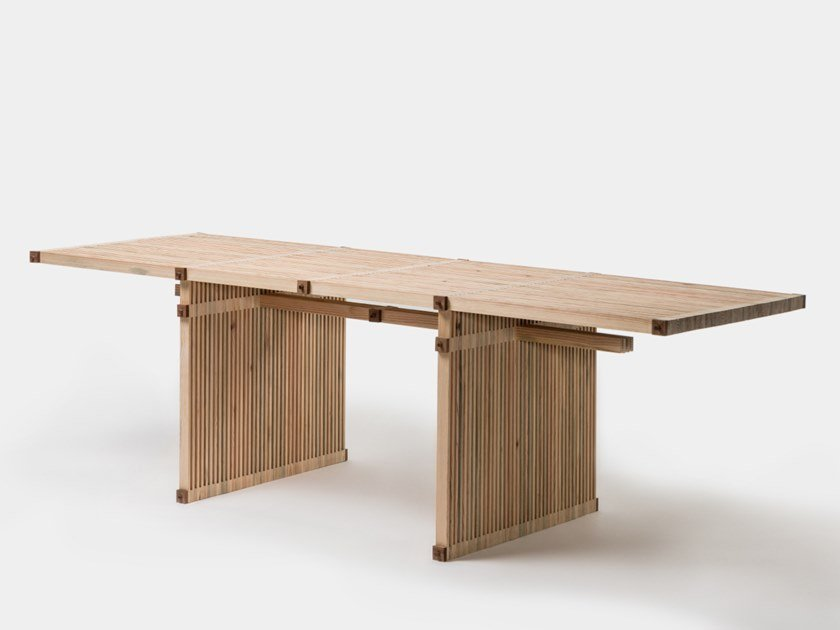 Rectangular wooden table #17 | Table by Linie by Cabana
