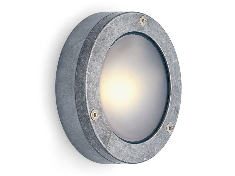 Aluminium wall lamp 171645 | Shallow aluminium light by THPG