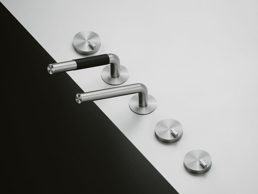 Set de bagnoire en acier inoxydable Q. 18 98 by Quadrodesign