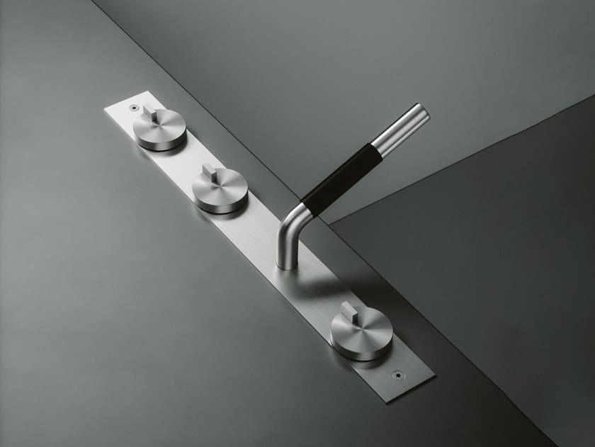 Set de bagnoire en acier inoxydable Q. 18 99 R by Quadrodesign