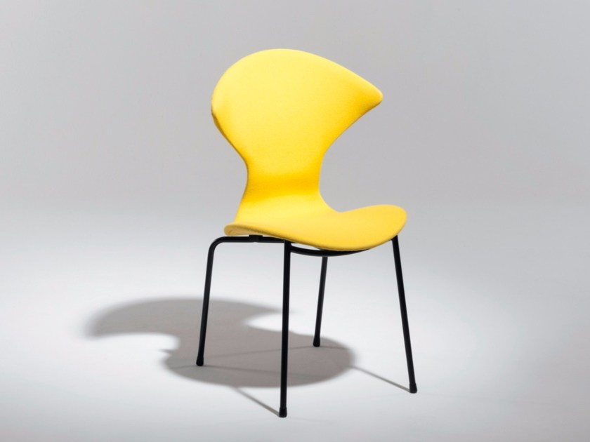Upholstered fabric chair 18 | Fabric chair by Burov