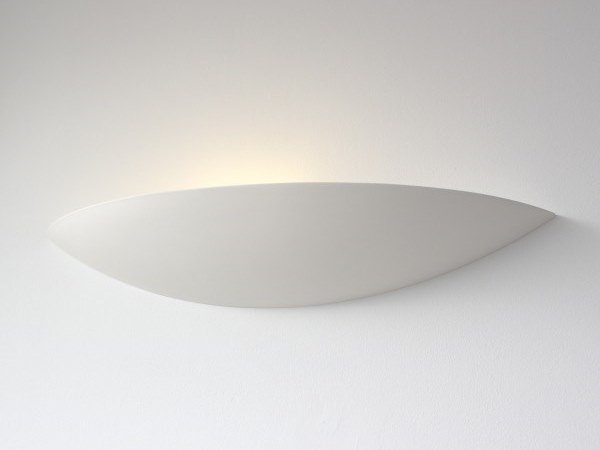 Plaster wall light VOILE by GESSO