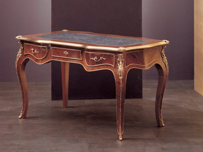 Rectangular writing desk with drawers 18   Writing desk by Rozzoni