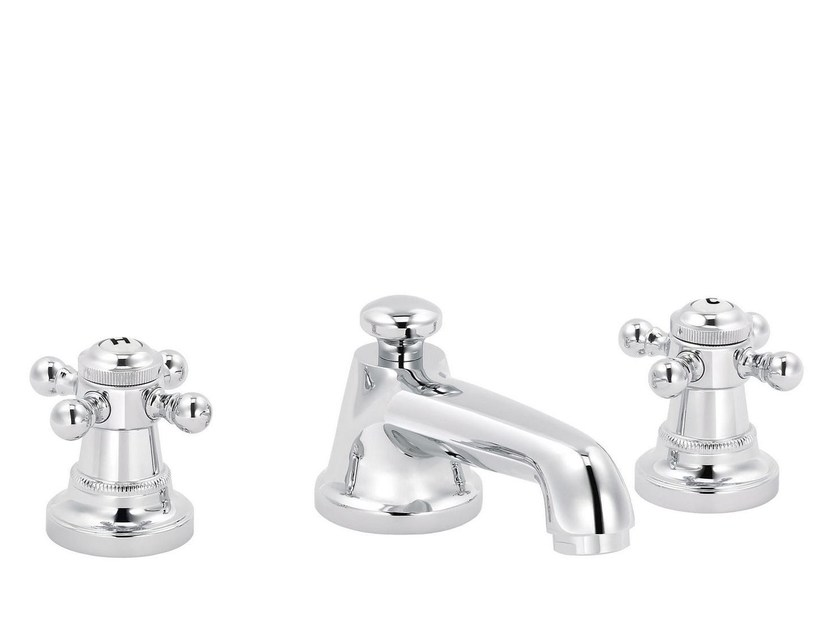 3 hole countertop washbasin mixer 1920-1921 | Countertop washbasin mixer by rvb