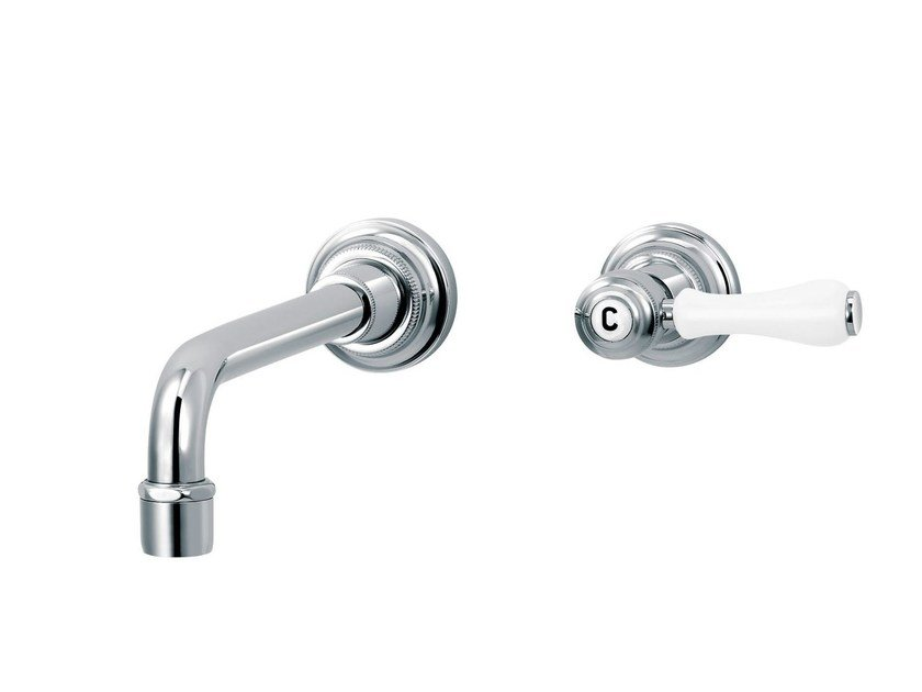 2 hole wall-mounted washbasin tap 1935 LIMOGES | 2 hole washbasin tap by rvb