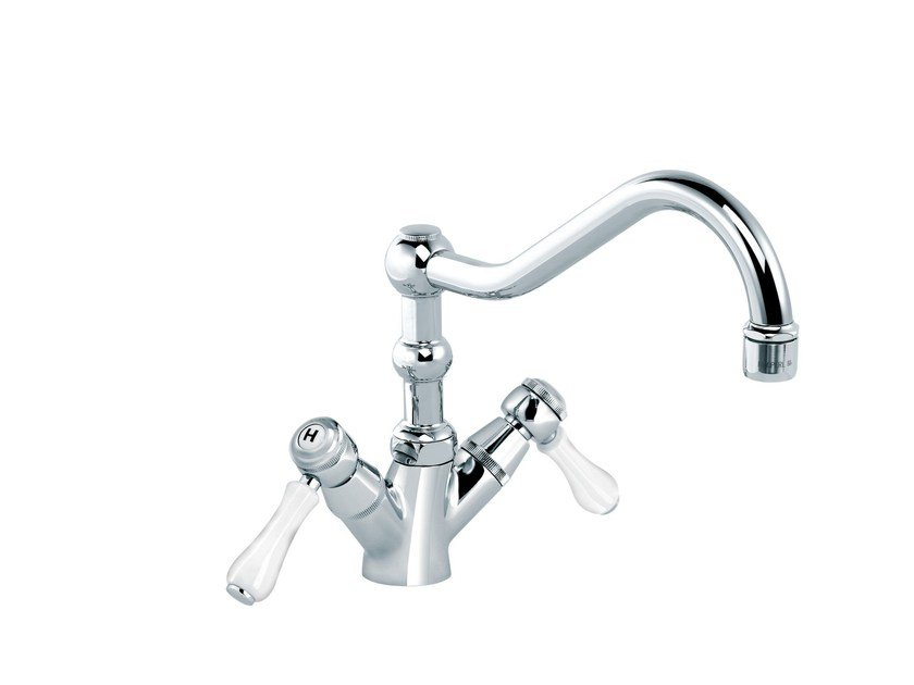 Countertop 1 hole kitchen mixer tap 1935 LIMOGES   Kitchen mixer tap by rvb
