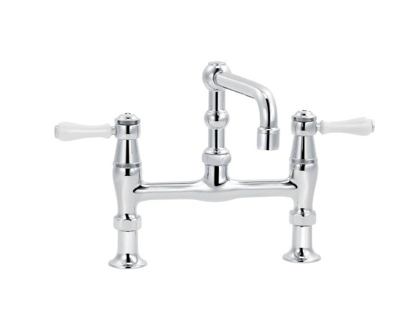 2 hole countertop washbasin mixer 1935 LIMOGES | Washbasin mixer by rvb