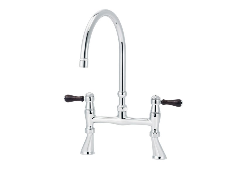 2 hole countertop kitchen mixer tap 1935 WOOD | Kitchen mixer tap by rvb
