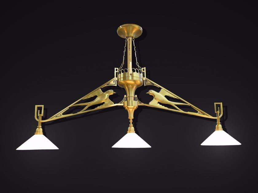 Bronze ceiling lamp 19500 | Ceiling lamp by Tisserant
