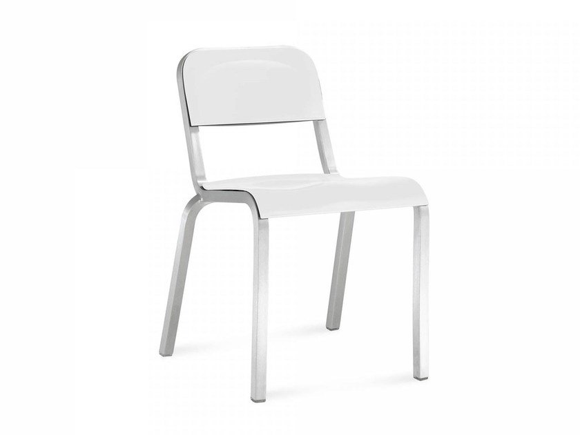 Stackable aluminium chair 1951™ | Chair by Emeco