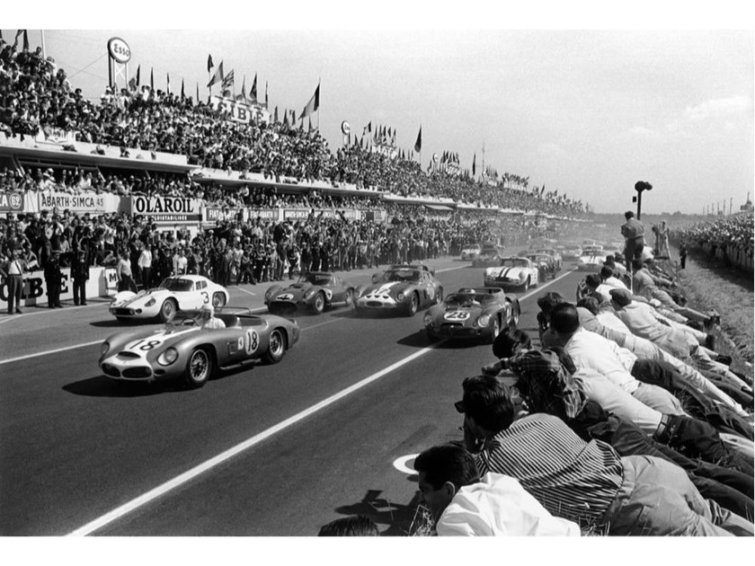 Stampa fotografica BUCK FULP - LE MANS 1962 by Artphotolimited
