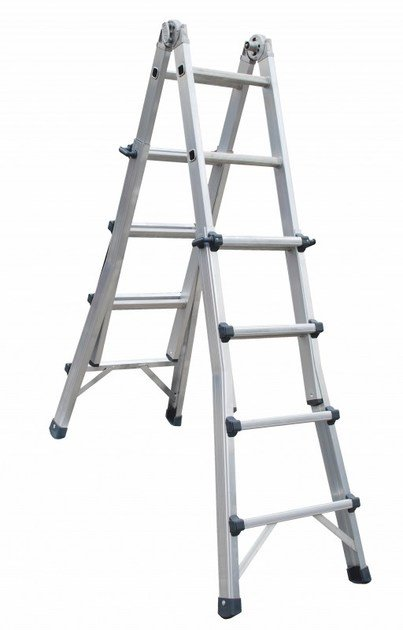 Aluminium heavy duty ladder 1970 EN | Heavy duty ladder by Frigerio Carpenterie
