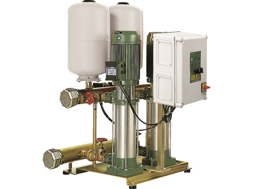 Set with 1 vertical multistage pumps 2/3 KV 3-6-10 by Dab Pumps