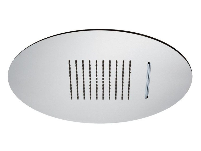 2-spray stainless steel waterfall shower 2-JETS HEAD SHOWERS   Built-in overhead shower by newform
