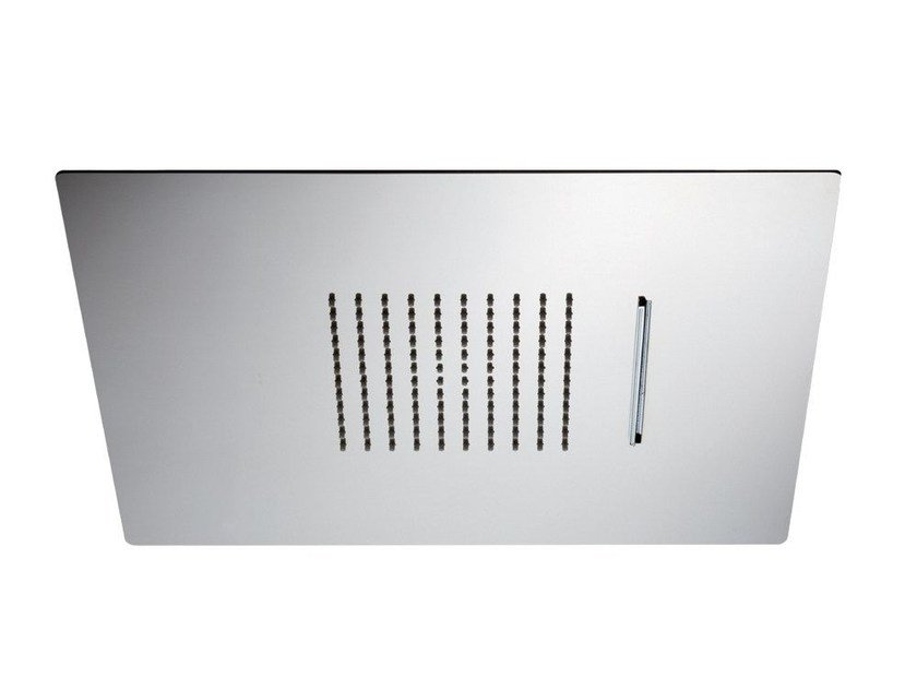 2-spray stainless steel waterfall shower 2-JETS HEAD SHOWERS | Built-in overhead shower by newform