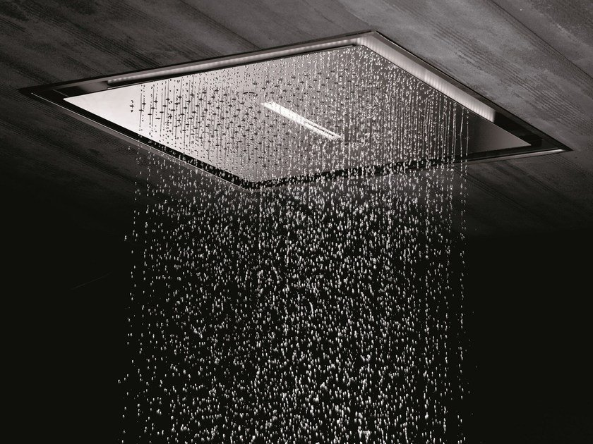 2-JETS HEAD SHOWERS | Built-in overhead shower By newform
