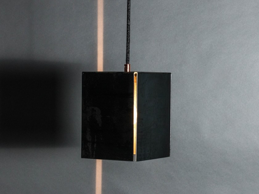 Steel pendant lamp Pendant lamp by DiaDorn