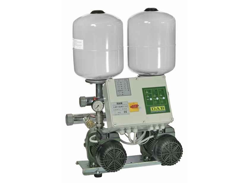 Set with 2 horizontal multistage euro 2 EURO by Dab Pumps