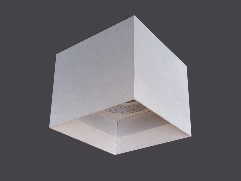 Spotlight housing in plasterboard SINGLE LED CUBES 135° by Gyps