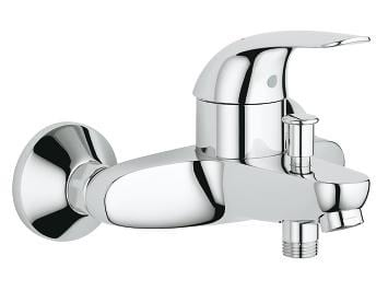 Single handle 2 hole wall-mounted shower/bathub mixer EUROECO | 2 hole bathtub mixer by Grohe