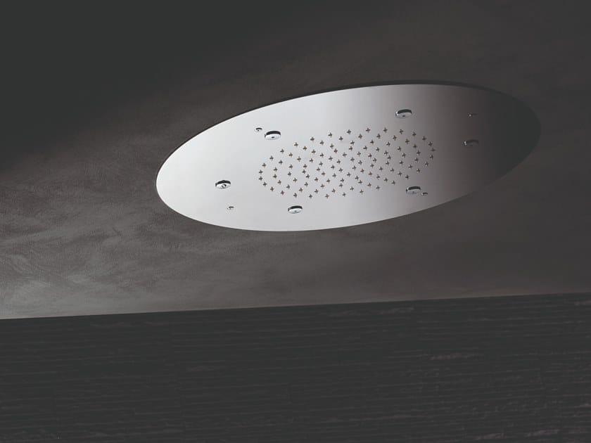 Tête de douche de plafond en acier 2-JETS HEAD SHOWERS | Tête de douche by newform