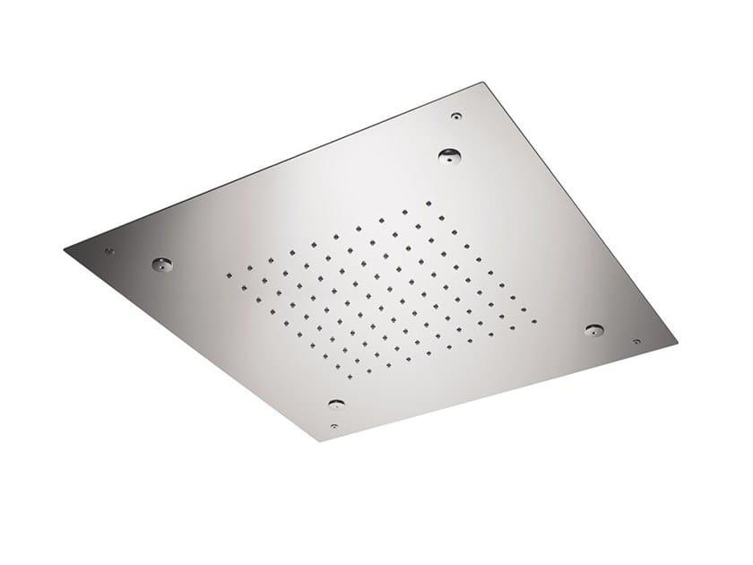 Built-in steel rain shower 2-JETS HEAD SHOWERS | Rain shower by newform