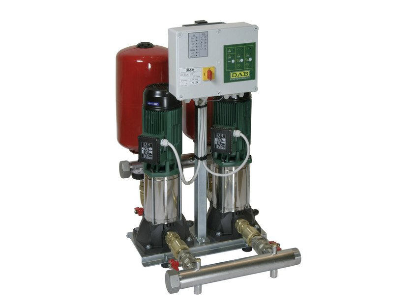 Set with 1/2/3 vertical multistage centrifugal pumps 2 KVC by Dab Pumps