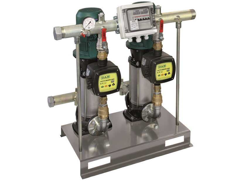 Constant pressure set with active driver 2 NKV AD 10-15 by Dab Pumps