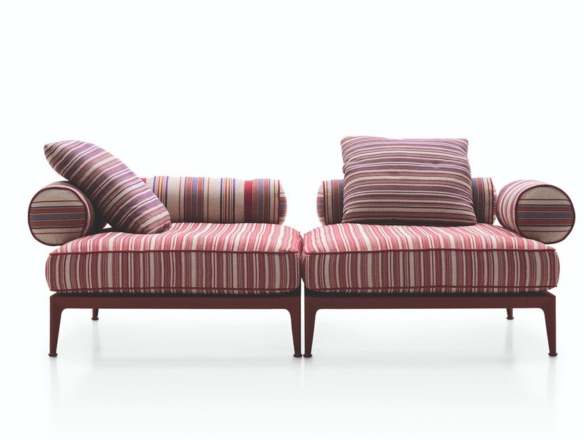 B And B Divani.Ribes 2 Seater Garden Sofa Ribes Collection By B B Italia Outdoor