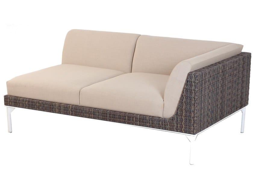 2 seater metal garden sofa TIIVIS | 2 seater sofa by ALANKARAM