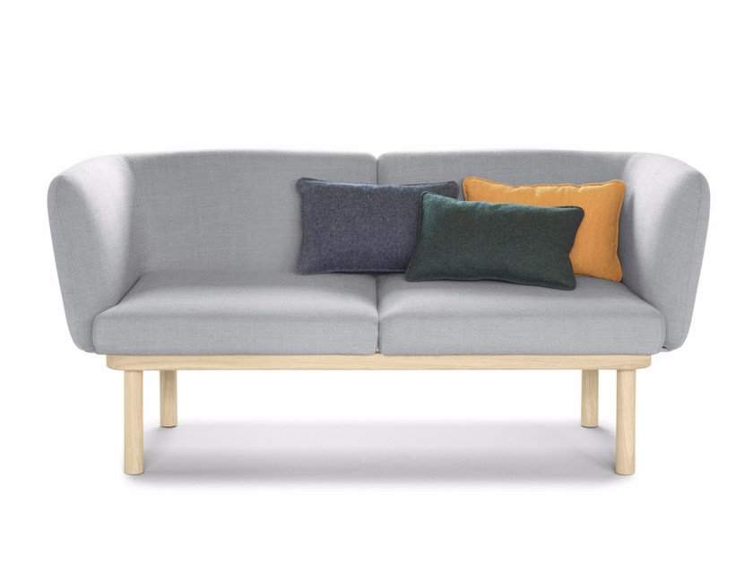 2 seater fabric sofa EGON | 2 seater sofa by ALKI