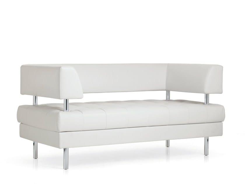 2 seater sofa MILO | 2 seater sofa by Emmegi