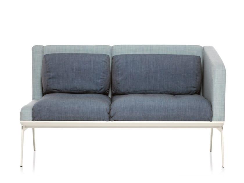 2 seater sofa METRO | 2 seater sofa by Emmegi