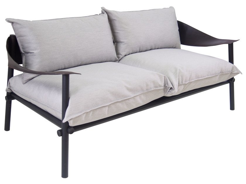 Upholstered 2 seater sofa TERRAMARE | 2 seater sofa by emu