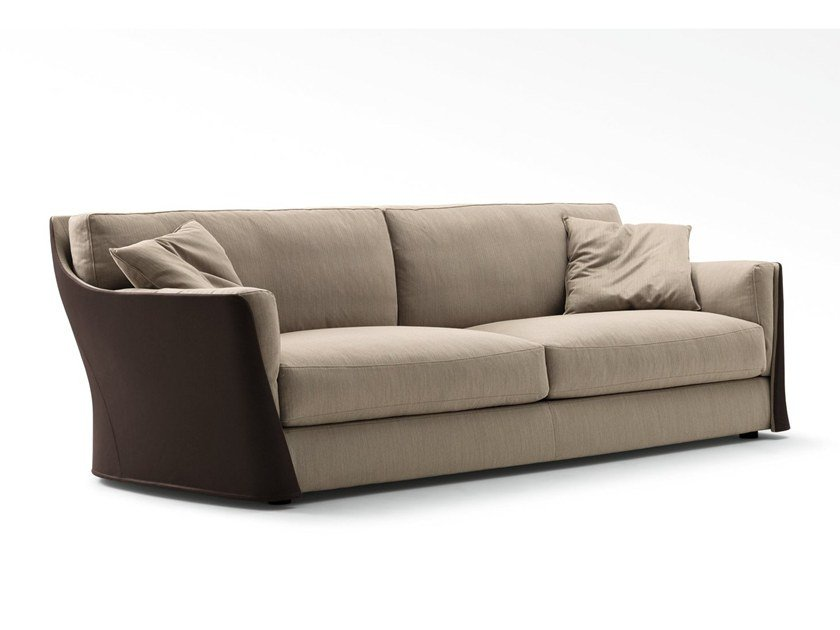2 seater fabric sofa with removable cover VITTORIA | 2 seater sofa by GIORGETTI