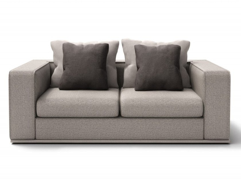 2 seater fabric sofa CHELSEA | 2 seater sofa by Huppé