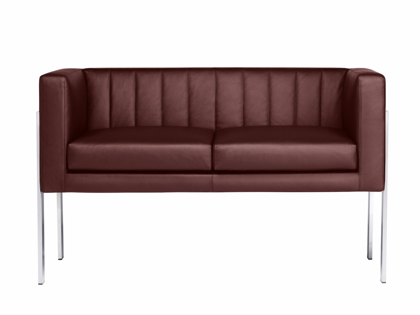 Upholstered 2 seater sofa YOU3 | 2 seater sofa by Luxy