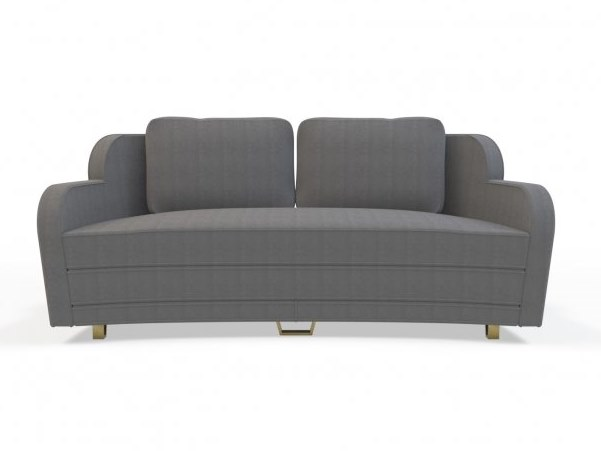 2 seater fabric sofa WING | 2 seater sofa by MARIONI