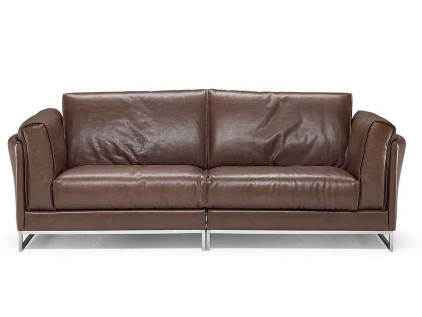2 seater leather sofa ARMONIA | 2 seater sofa by Natuzzi