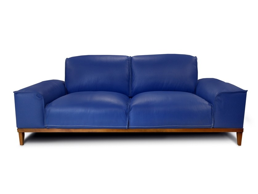 2 Seater Leather Sofa Manchester By Nieri