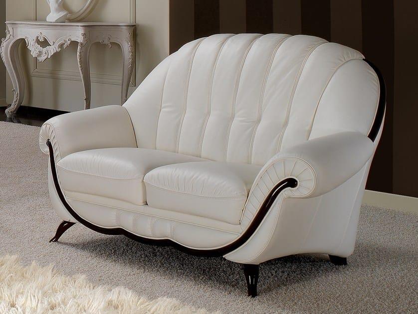 2 seater leather sofa POMPEI | 2 seater sofa by Nieri
