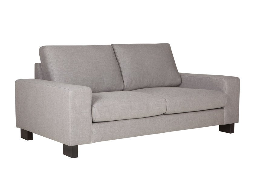 Upholstered 2 seater fabric sofa QUATTRO | 2 seater sofa by SITS