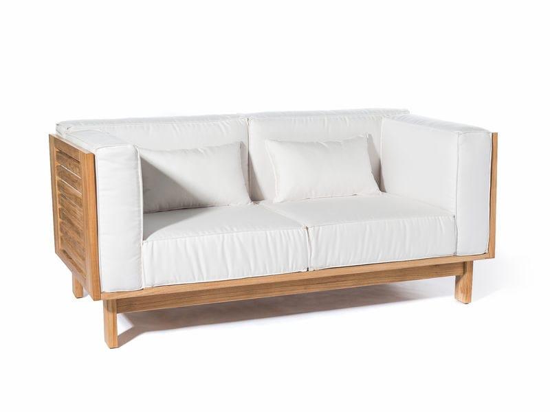 2 seater Sunbrella® sofa SKANÖR | 2 seater sofa by Skargaarden