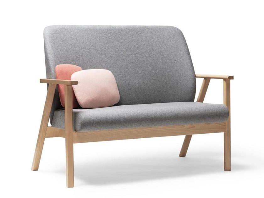 2 seater fabric sofa SANTIAGO 02 | 2 seater sofa by TON